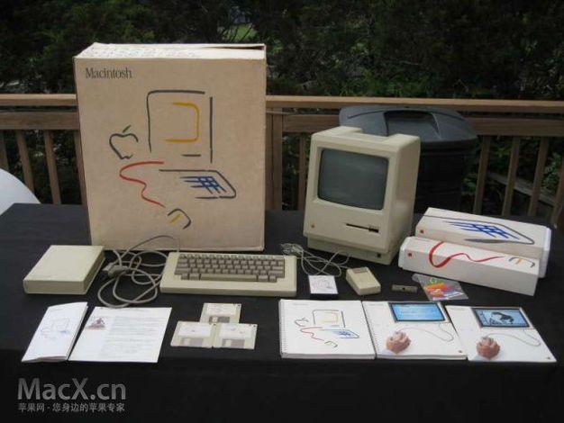 28年前的苹果macintosh电脑开箱(高清图)