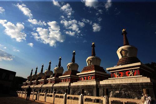 对塔尔寺班禅行宫,宗喀巴殿