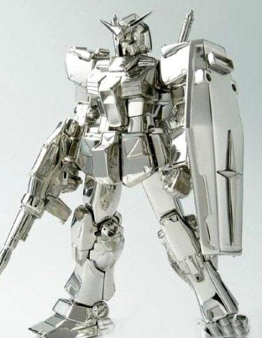铂金变形金刚机器人高清图片
