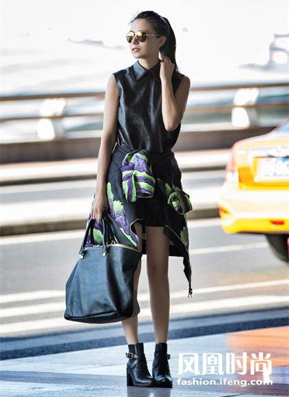 air-fashion_高圆圆机场街拍