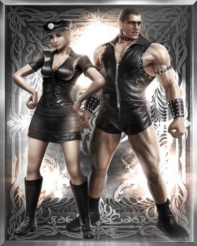 刀魂5服装包发布 美女化身警察手持荆棘棒求虐