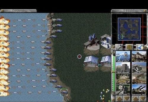 永不过时的经典电脑游戏:红色警戒95(1995)