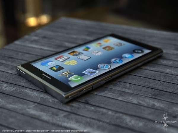 iphone 6融入nano风格 外观类似诺基亚撸妹