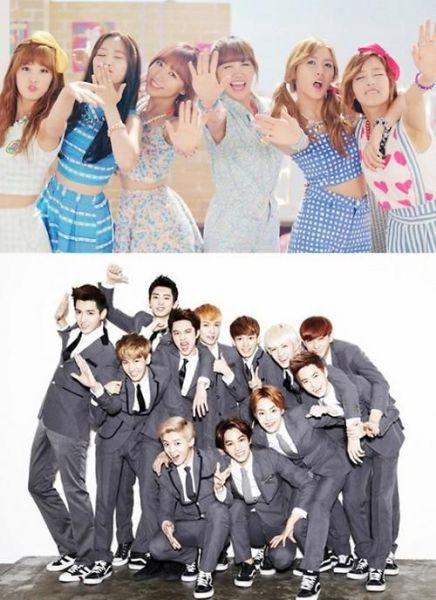 EXO与Apink