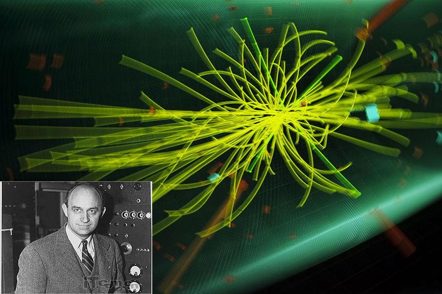 """费米, 美籍意大利裔物理学家, 被公认为二十世纪的首席物理大师之一,1938年获诺贝尔物理学奖。他以通过非常少量或不精确的数据来得到比较好的估计的能力被广泛熟知。原子弹引爆成功时,他在现场附近撒了一把碎纸片,并根据纸片飞出的距离估算出了核爆炸的""""当量""""。"""