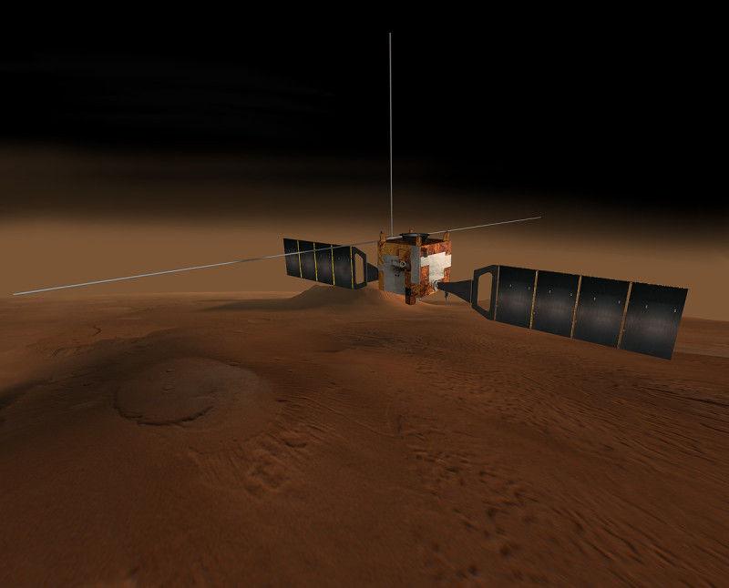 研究称火星大气远比地球干净