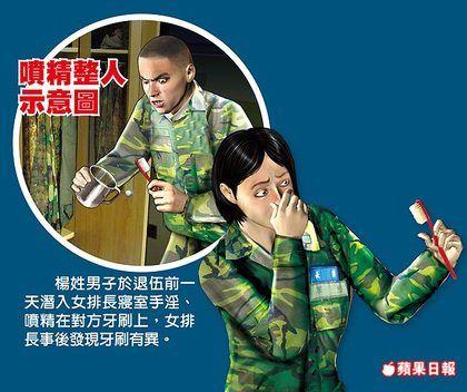 头像因女生长v头像不均报复打男子喷精牙刷上qq的a头像手枪女排图片