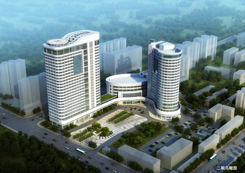 中南建筑设计院中标武汉市普仁医院新建医技综