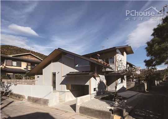 个性别墅倾斜屋顶 打造专属大自然的淳朴