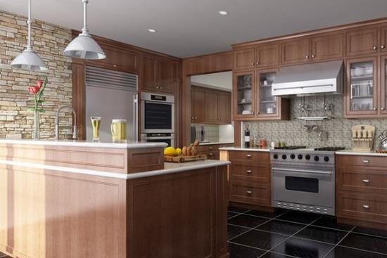 欧式古典风格厨房设计 营造温馨归属感