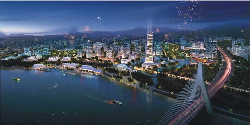 组图 江津滨江新城 生态之城 未来之城 高清图片