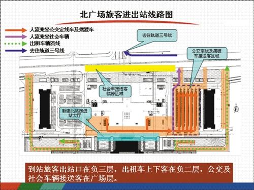 记者提前打探重庆火车北站北广场(图)