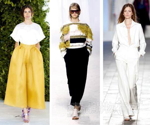 一周时尚权威指南 2014春夏潮流趋势 理直气壮玩浪漫 高清图片