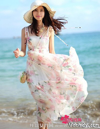海边度假长裙不能少