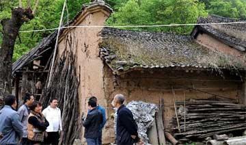"""秦岭深处发现200多年民宅 竟然设计成""""迷宫"""""""
