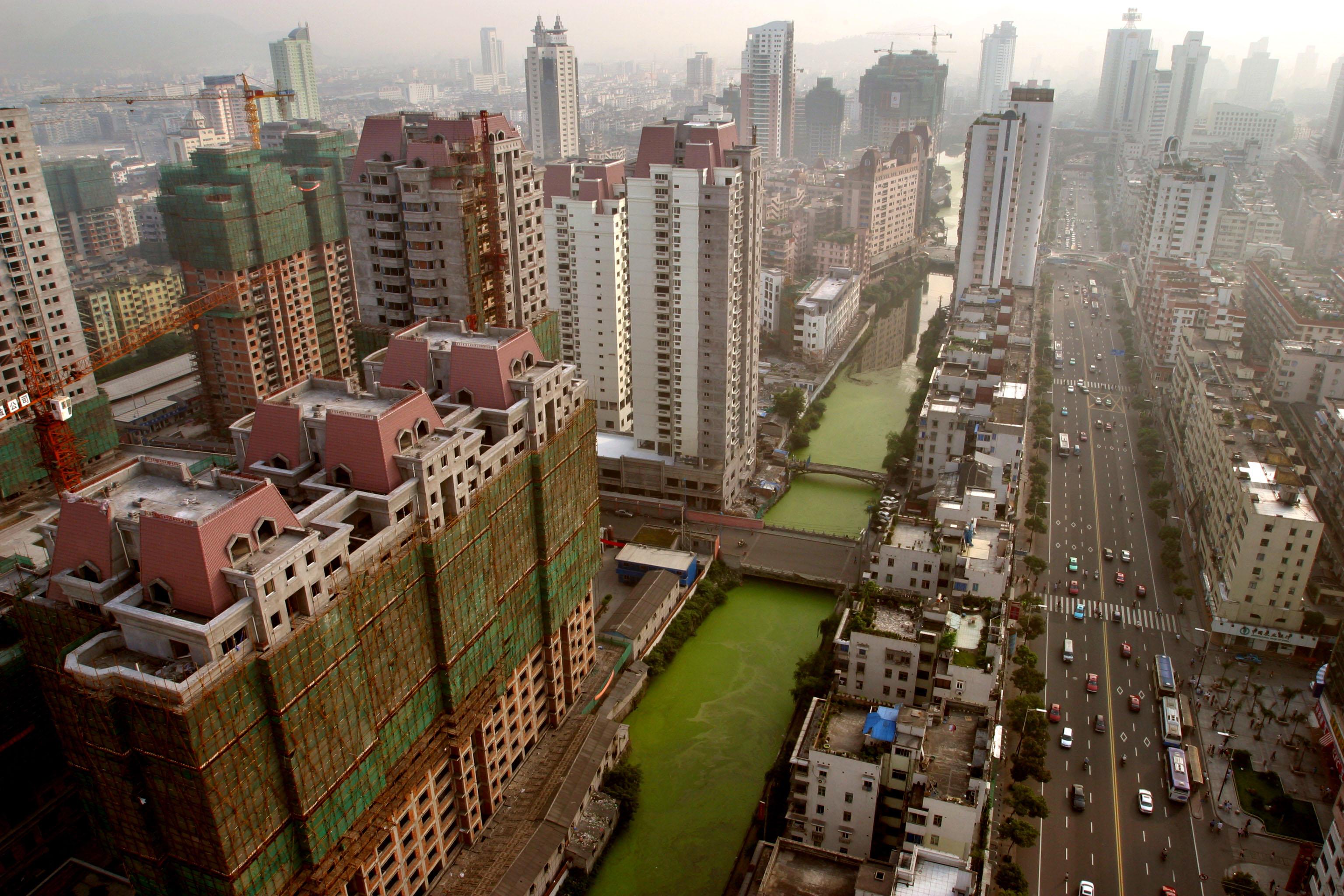 中国无人废弃城市