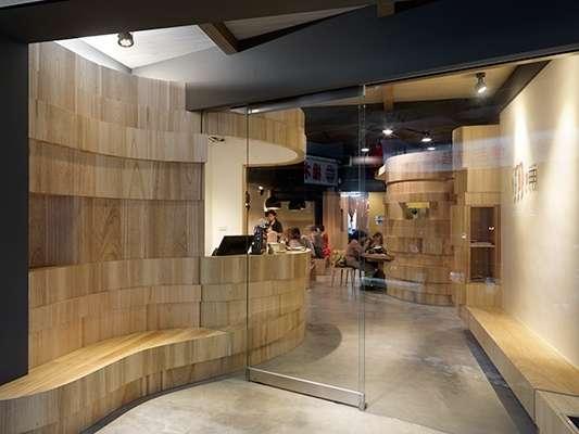 工装室内餐厅临摹手绘线稿