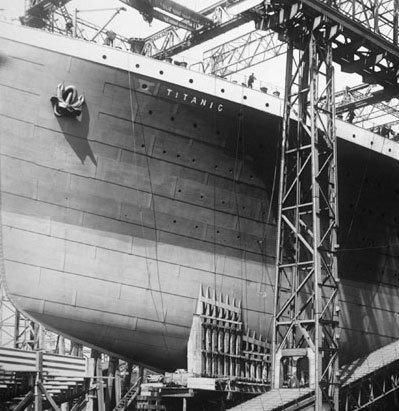泰坦尼克号沉没前后罕见照(组图)