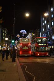 伦敦街头景:牛津街
