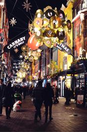 伦敦街头景:Carnaby街
