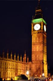 伦敦街景:大本钟 安静的守护