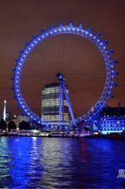 伦敦街景:伦敦眼