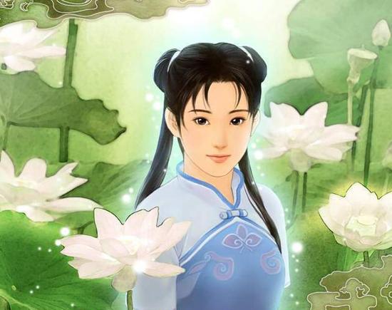 赵灵儿/【1995,赵灵儿:温婉如水的灵秀少女】