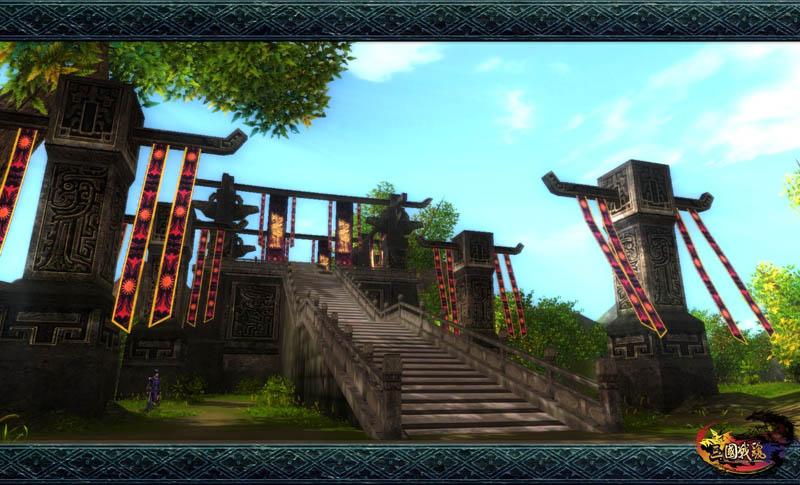 《三国战魂》真3D经典画面
