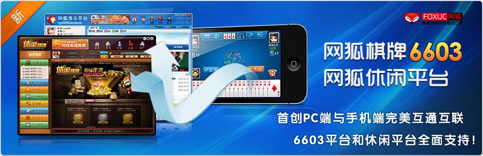网狐开放6603平台棋牌游戏源码