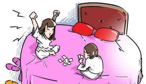 女大学生与人开房玩游戏