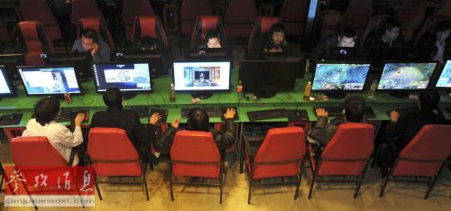 英报:智能手机和宽带普及让中国网吧走向衰落