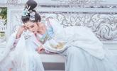 中国女孩穿汉服在泰国拍写真走红