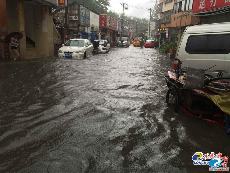 说好的 海绵城市 呢 暴雨后南京仍 看海 图
