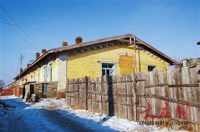 探秘中东铁路大庆沿线最大俄式建筑群图片