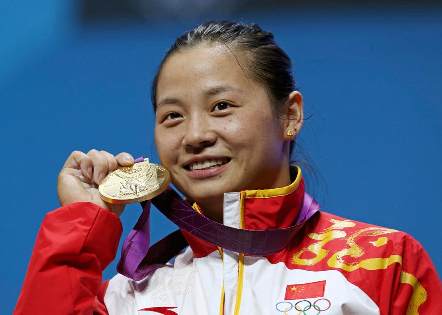 2012年7月30日,伦敦奥运会女子举重58公斤级,李雪英为中国代表团夺第8金。
