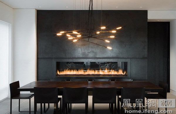 12间家装餐厅与吊灯的完美契合