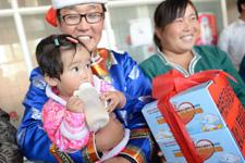 消除婴幼儿贫血行动受益儿童家庭