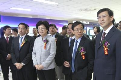 参观国家专用集成电路设计工程技术研究中心合肥分中心