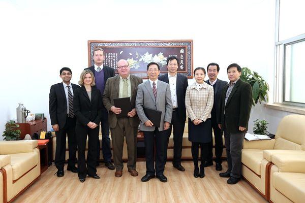 德国克劳斯塔尔工业大学代表团来访我校图片