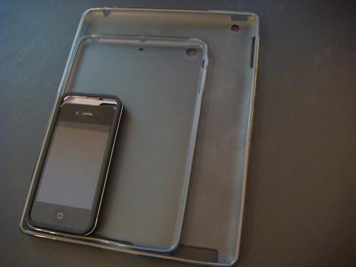 ipadmini再曝新图与iphone尺寸对比手指棒视频转教程图片