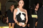 凭电视剧《宫》在国内迅速走红的杨幂受邀参加米兰时装周。
