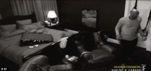 奥多姆与卡戴珊床照曝光房内安装情趣情趣(组尚品酒店秋千怎么样杭州图片