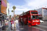 洛杉矶好莱坞星光大道。