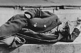 1935年,大萧条时代的失业者。