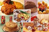 """俄罗斯人吃啥?择其要者,有面包、牛奶、土豆、奶酪和香肠——""""五大领袖"""",圆白菜、葱头、胡萝卜和甜菜——""""四大金刚"""",以及黑面包、伏特加、鱼子酱——""""三剑客""""。"""