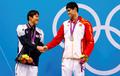 孙杨与朴泰桓并列第二获男子200米自由泳银牌