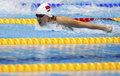 女子200米蝶泳预赛 焦刘洋小组第一刘子歌第四