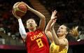 女篮1/4决赛 中国60-75澳大利亚