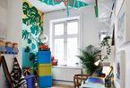 淡雅地板搭配色彩家居 装扮属于家的温暖港湾
