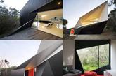 """克莱因瓶.这栋海滨别墅曾获2009年度世界建筑节""""最佳住宅""""提名奖.图片"""